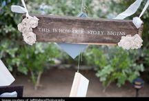 outdoor wedding stuffs