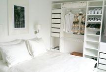 new condo / White interior