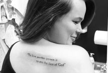 for the tat I'll never get / by Sarah Carolyn