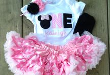 Makinleigh's 1st Birthday Party <3 / by Whitney Mason