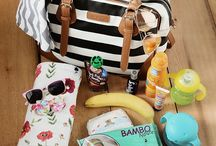Diaper Bag Essentials Newborn / Diaper Bag Essentials Newborn / You've found yourself the perfect diaper bag. But now you're wondering - what the heck do I put in it? Diapers, obviously, but here are some of the other diaper bag essentials you won't want to miss. / By MomLovesBest - Mommy Motivation, Parenting Hacks & Honest Baby Products Reviews