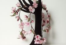 Fleurs en soie / Fleurs en soie