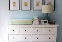 Nursery Design Decoration Ideas / Modern nursery design and decor ideas.