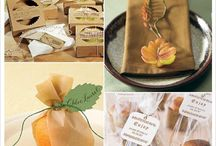 Mariage automne cadeaux d'invités / Découvrez des idées de cadeau pour un mariage sur l'automne