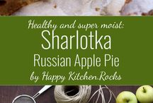 Sharlodka Russian Apple pie