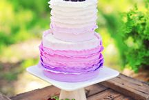 Wedding Cakes / The most scrumptious and delicious looking wedding cakes around...