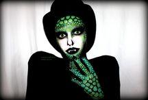 sfx make-up & facepainting / SFX and make-up art, facepainting, avantgarde make-up, creative make-ups, dark make-ups
