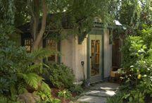 potting sheds / by Ginger Wheeler