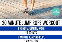 exercice corde à sauter