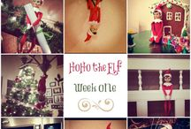 Elf on the Shelf Ideas for the Kiddos / by Kellie Evans