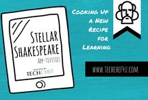 Stellar Shakespeare App-tivities / Shakespeare App-tivities that Support and Transform the Text.