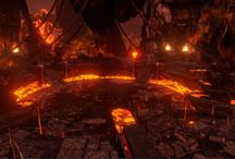 Arenas / The arenas of Skara, made with the dazzling Unreal Engine 4