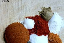 Sauces and spice mix