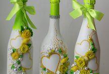 Свадьба зелёная, салатовая