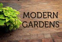 Modern Gardens / Contemporary design inspiration for your garden.