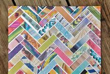 Magazine collage notebook