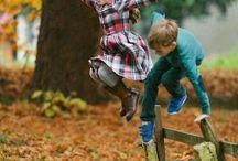Niños outdoor