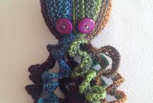 My knitting / Her er nogle af de strikkeprojekter jeg har haft gennem årene. Nogen er efter opskrift men de fleste er tilpasset eller inspireret af flere opskrifter eller mønstre og teknikker jeg havde lyst til at eksperimentere med.