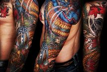japanese tattoo by Jess Yen