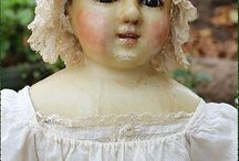 antique and vintage dolls / by Carol Davidson