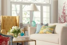Living With Color: Yellow / Yellow is the color of sunshine and happiness. Find design inspiration for your home in yellow. Explore color palettes with yellow, beautiful rooms and great home products.