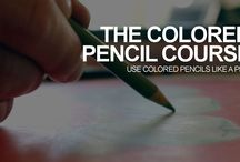 coloured pencil course