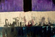 Monoliths / Monolith paintings by Kai Lavila. Oil and gesso on canvas.  http://kainvk.deviantart.com/