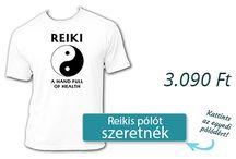 Reiki / Reiki T-shirts / Reiki pólók