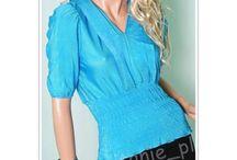 Eleganckie modne bluzeczki z krótkim rękawem