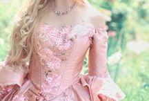 Fairytale Fashion / Fairy outfits, medieval,  renaissance,  princess, fantasy gowns, etc