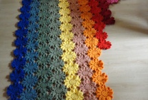 Wool crocheting and knitting