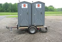 Construction, Pipeline & Oil Field jobsites / We can supply you with everything from Super Clean Portable Toilets to Decontamination Shower Trailers.   We offer:  Standard Portable Toilets,  Hand Wash Stations,  Holding Tanks,  Fresh water Systems,  Shower Trailers,  Eye Wash Stations