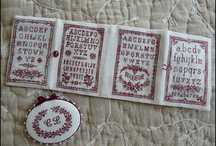 Cross stitch patterns for  sewing kits & pincushions / Linda's sewing room, sewing kits, button boxes, & pincushions
