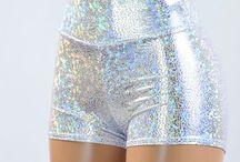 holo glitter iridescent glow