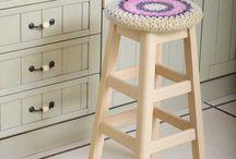 Crochet Stool Covers / by Sara Rivka Dahan