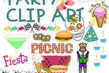 Clip Art: Party Time