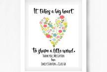 LEAVING Nursery / Teacher Gifts