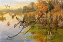 Szamosközi Vadász festmények
