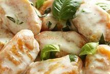 pâtes gnocchis