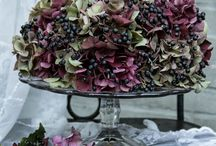Dried Hydrangea / For more floral inspiration and flower arranging tips - visit my blog Of Spring and Summer: http://ofspringandsummer.blogspot.co.uk/