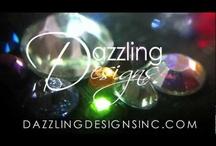 Videos by Dazzling Designs & Apparel / Rhinestone transfer videos