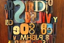 fonts/type / by Sarah Kix Neugebauer