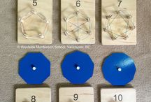 Montessori poligoni elastici
