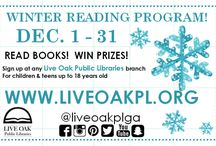 Winter Reading Program / Winter is the perfect time of year to curl up with a great book or try reading something a little out of your comfort zone. For the kids (ages 18 and under), we have our yearly Winter Reading Program from Dec. 1 - 31. There are prizes to be had!