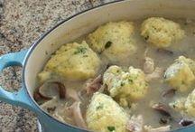 Stew dumplings