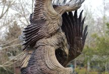 Chainsaw Carvings & Woodworking