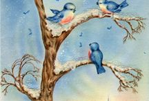 Bluebirds of happiness...