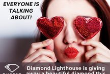 Diamond Lighthouse Valentine's Giveaway Contest! / This year we are looking for great, gemstone related Valentine's tales. They can be humorous, adventure-themed or simply good old fashioned romantic; just make sure they feature a precious stone in some manner (ideally a diamond!) Submissions should be a maximum of 500 words, original stories Winner announced & notified on 2/11/15 - Winner has 24 hours to provide mailing address.