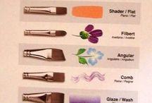 Кисти для краски