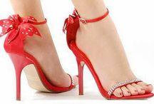 Sko - røde